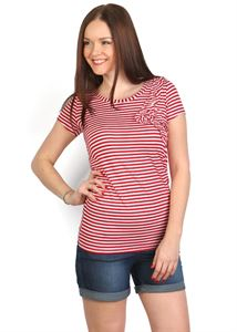 Picture of Birgit T-shirt with red line