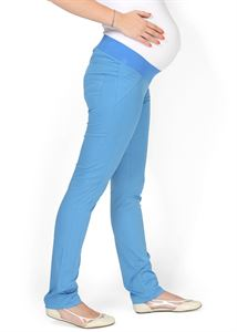 "Picture of ""Nereza"" Maternity blue pants 2 in 1"