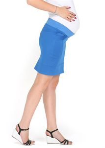 "Picture of ""Nikoletta"" Maternity cornflower skirt 2 in 1"