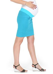 "Picture of ""Nikoletta"" Maternity turquoise skirt 2 in 1"