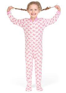 """Bild von """"Bamby"""" Schlafanzug ros mit Schmetterlingen"""