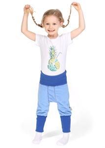 "Bild von ""Ataman"" Baby Fleece Pumphose blau"