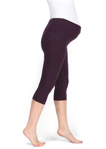 Picture of Maternity leggings in eggplant (LV05)