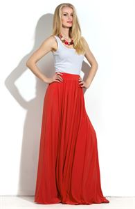 Picture of DSU-22-3 Maxi cadmium Skirt