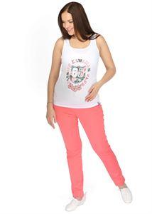 """Obrázek Kalhoty """"Amadea""""  2v1  pro těhotné; barva: coral"""