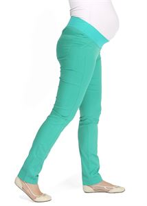 "Picture of ""Nereza"" Maternity green pants 2 in 1"