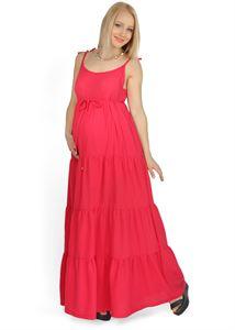 """Bild von """"Violla"""" rote Umstandskleid"""