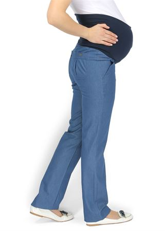"""Picture of """"Seily"""" Maternity denim pants"""