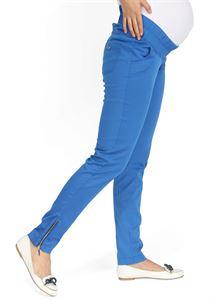 """Obrázek Kalhoty """"Ambra"""" 2v1  pro těhotné; barva: nebeská"""