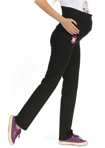 "Picture of ""Zita"" Maternity black pants"