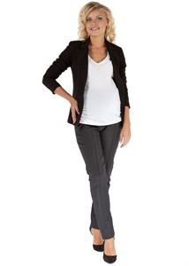 "Picture of ""Kadi"" Maternity grey pants"