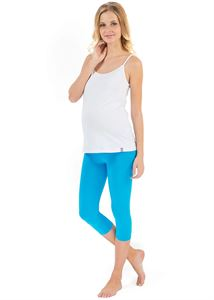 Picture of Maternity leggings in turquois (LV05)