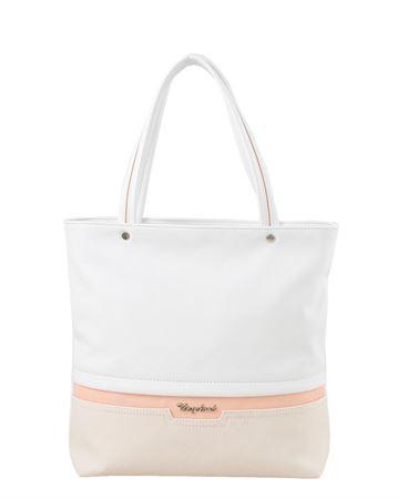 Picture of Bag ladies Bagsland 2359-15111 white beige pastel pink