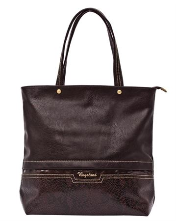 Picture of Bag ladies Bagsland 2359-01110 chocolate reptile