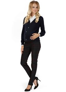 """Obrázek Kalhoty """"Kadi"""" pro těhotné; barva: modré"""