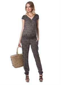 "Picture of ""Lyudvig"" Maternity green jumpsuit"