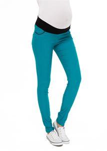"Obrázek Kalhoty ""Raquel"" pro těhotné; barva: smaragd"