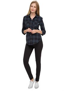"Picture of ""Verbena"" Maternity black insulated leggings"