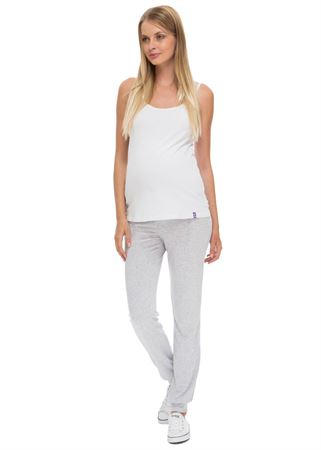 Picture of BH03 Maternity home breeches in grey