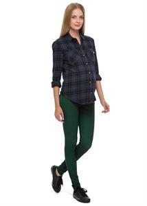 """Obrázek Kalhoty """"Taylor"""" pro těhotné; barva: zelená"""