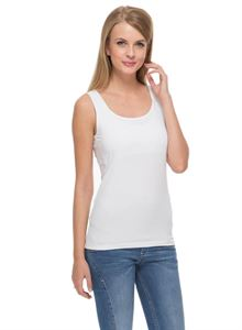 Picture of Nursing MX01 tank top classic cotton in white