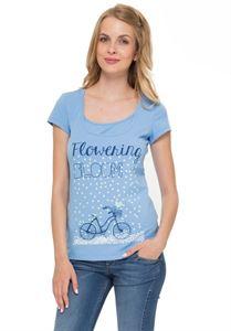 Picture of  Bit Nursing T-Shirt In light blue