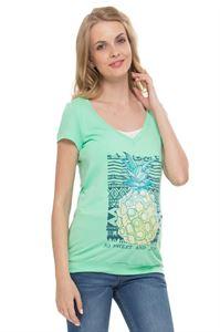 """Bild von """"Darcy"""" Umstandsshirt/Stillshirt mit Äpfel Print"""