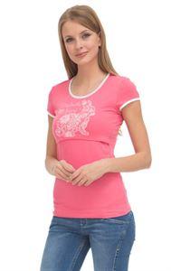 """Изображение Футболка """"ФХ03"""" для кормящих; цвет: розовый"""