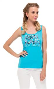 Picture of  Alda Nursing Tank Top In light blue/bonjour