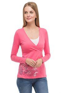 "Bild von ""Mindy"" Stillpullover  Farbe: rosa"