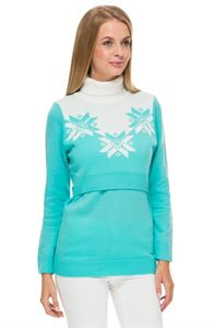 "Picture of Jumper ""winter"" Lazur for maternity and nursing"
