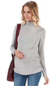 Picture of Maternity Turtleneck Norina melange