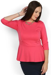 Picture of Blouse Stefi coral maternity and nursing