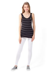 "Picture of ""Step"" maternity leggings  2in1; color: white"