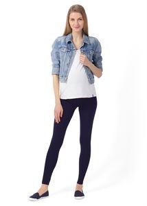 """Bild von Leggings """"Step"""" für schwangere; Farbe: dunkelblau"""