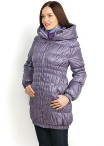 Picture of Sandra Demi-Season Coat in lavender
