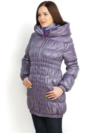 Picture of Sandra Demi-Season Coat in lavender