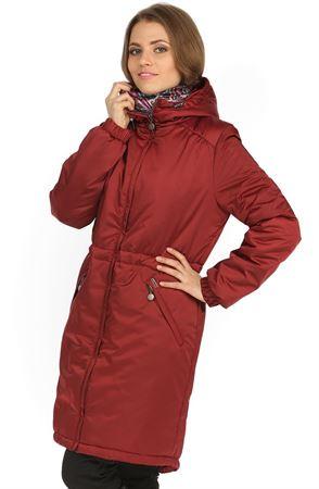 "Picture of Jacket Demi-season ""Kelly"" Bordeaux"