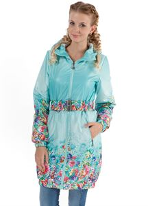 "Picture of ""Simonа"" Demi-Season Coat Light Emerald"