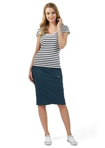 "Picture of ""Branda"" Maternity skirt 2 in 1; color: dark denim"