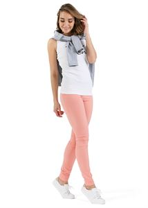 "Picture of ""Julian"" Maternity pants 2in1; color:  peach"