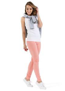 """Obrázek Kalhoty """"Giuliana"""" pro těhotné 2 v 1; barva: broskvová"""