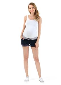 Picture of Shorts DH02 dark blue maternity