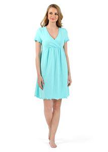 """Bild von """"Florida"""" Nachthemd für schwangere und stillende; Farbe: Minze ; Farbe: Minze"""