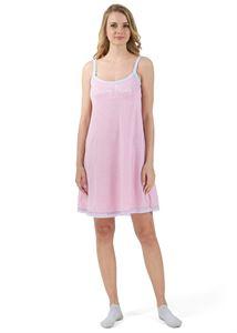 """Bild von """"Betta"""" Nachthemd für schwangere und stillende; Farbe: Minze ; Farbe: rosa"""