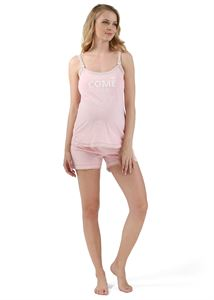 "Picture of Maternity  and nursing Home kit ""Denise""; color: light coral"