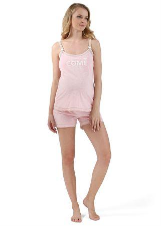"""Bild von Set Home """"Denise"""" für schwangere und stillende; Farbe: hell-Koralle"""