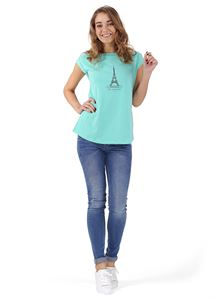 Picture of Christina Maternity T-Shirt colour:  color: menthol