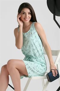 "Picture of Dress ""Leon"" ; color: menthol"