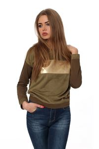Picture of FH30170 sweatshirt color: khaki